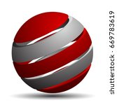 abstract sign illustration   Shutterstock .eps vector #669783619