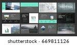 original presentation templates ... | Shutterstock .eps vector #669811126