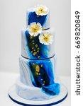 Multilevel Wedding Cake With...