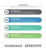 circle infographic template... | Shutterstock .eps vector #669852550