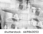 grunge background of black and... | Shutterstock . vector #669863053
