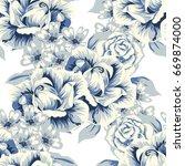 abstract elegance seamless... | Shutterstock .eps vector #669874000