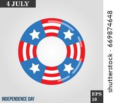 lifebuoy patriotic icon in...