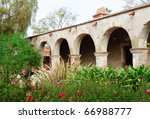 Stone Arches And Gardens At...