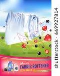 berries fragrance fabric... | Shutterstock .eps vector #669927814
