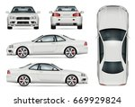 sports car vector template for... | Shutterstock .eps vector #669929824