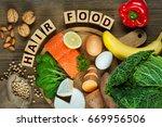 healthy hair concept. best... | Shutterstock . vector #669956506