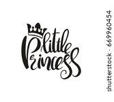 hand drawn phrase little...   Shutterstock .eps vector #669960454