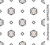 abstract modern seamless... | Shutterstock .eps vector #669962296