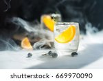 glass of water that looks cool... | Shutterstock . vector #669970090