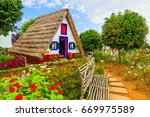 Traditional Rural House With...