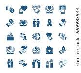 charity  sponsorship donation...   Shutterstock . vector #669983944