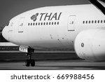 chiang mai thailand  1 feb 17 ... | Shutterstock . vector #669988456