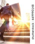 full length rear view of a... | Shutterstock . vector #669990148