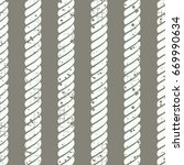 seamless pattern with rope... | Shutterstock . vector #669990634