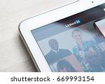 jyvaskyla  finland   july 1 ... | Shutterstock . vector #669993154