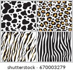 Animal Skin Seamless Pattern...