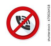 no call illustration | Shutterstock .eps vector #670026418