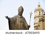 Statue Of Pope John Paul Ii In...