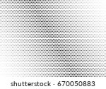 abstract halftone dotted... | Shutterstock .eps vector #670050883