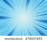 comic and manga books speed... | Shutterstock .eps vector #670057693