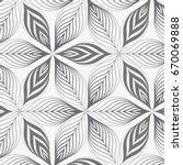 linear vector pattern ... | Shutterstock .eps vector #670069888