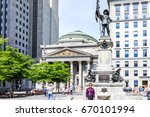 montreal  canada   may 28  2017 ... | Shutterstock . vector #670101994