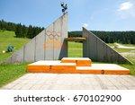 sarajevo  bosnia and... | Shutterstock . vector #670102900