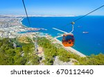 aerial view from tunektepe... | Shutterstock . vector #670112440