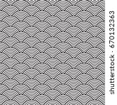 Ancient Japanese Pattern  Wate...