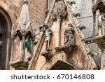 scaliger tombs  a group of five ...   Shutterstock . vector #670146808
