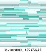 vector turquoise line pattern.... | Shutterstock .eps vector #670173199
