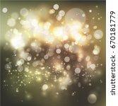 bokeh lights background | Shutterstock .eps vector #670181779