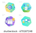 material design icons set for... | Shutterstock .eps vector #670187248