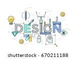 modern vector illustration... | Shutterstock .eps vector #670211188