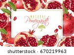 vector horizontal banner with... | Shutterstock .eps vector #670219963