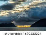 when boat is the only way   Shutterstock . vector #670223224