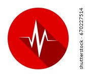 heart cardiology icon isolated... | Shutterstock .eps vector #670227514