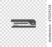 stapler vector icon | Shutterstock .eps vector #670229128