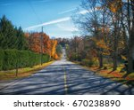 rural road  | Shutterstock . vector #670238890