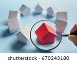 choosing the right real estate  ... | Shutterstock . vector #670243180