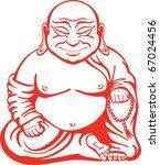 happy buddha | Shutterstock .eps vector #67024456