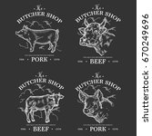 Farm Animal Livestock. Pig And...