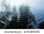 water ripples | Shutterstock . vector #670289350