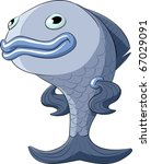 fish on a white background ... | Shutterstock .eps vector #67029091