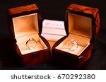 platinum diamond ring  wedding... | Shutterstock . vector #670292380