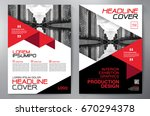 business brochure. flyer design.... | Shutterstock .eps vector #670294378