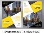 business brochure. flyer design.... | Shutterstock .eps vector #670294423