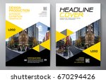 business brochure. flyer design.... | Shutterstock .eps vector #670294426