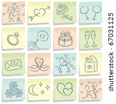 Sticky Note With Love Pictures...